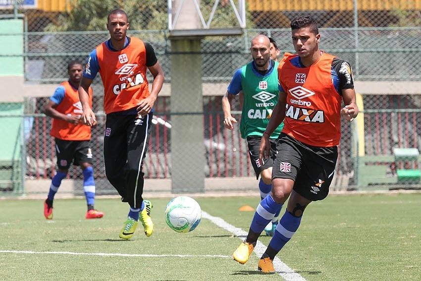 Henrique treinou normalmente pelo Vasco no CFZ antes do acidente