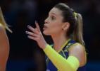 Palmeirense por conta do bisavô, Camila Brait celebra título do Brasileirão - Divulgação/FIVB