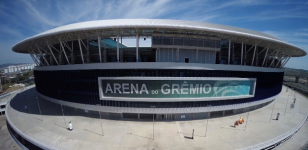'Bairro Tricolor' vai colorir o entorno da Arena do Grêmio com as cores do clube