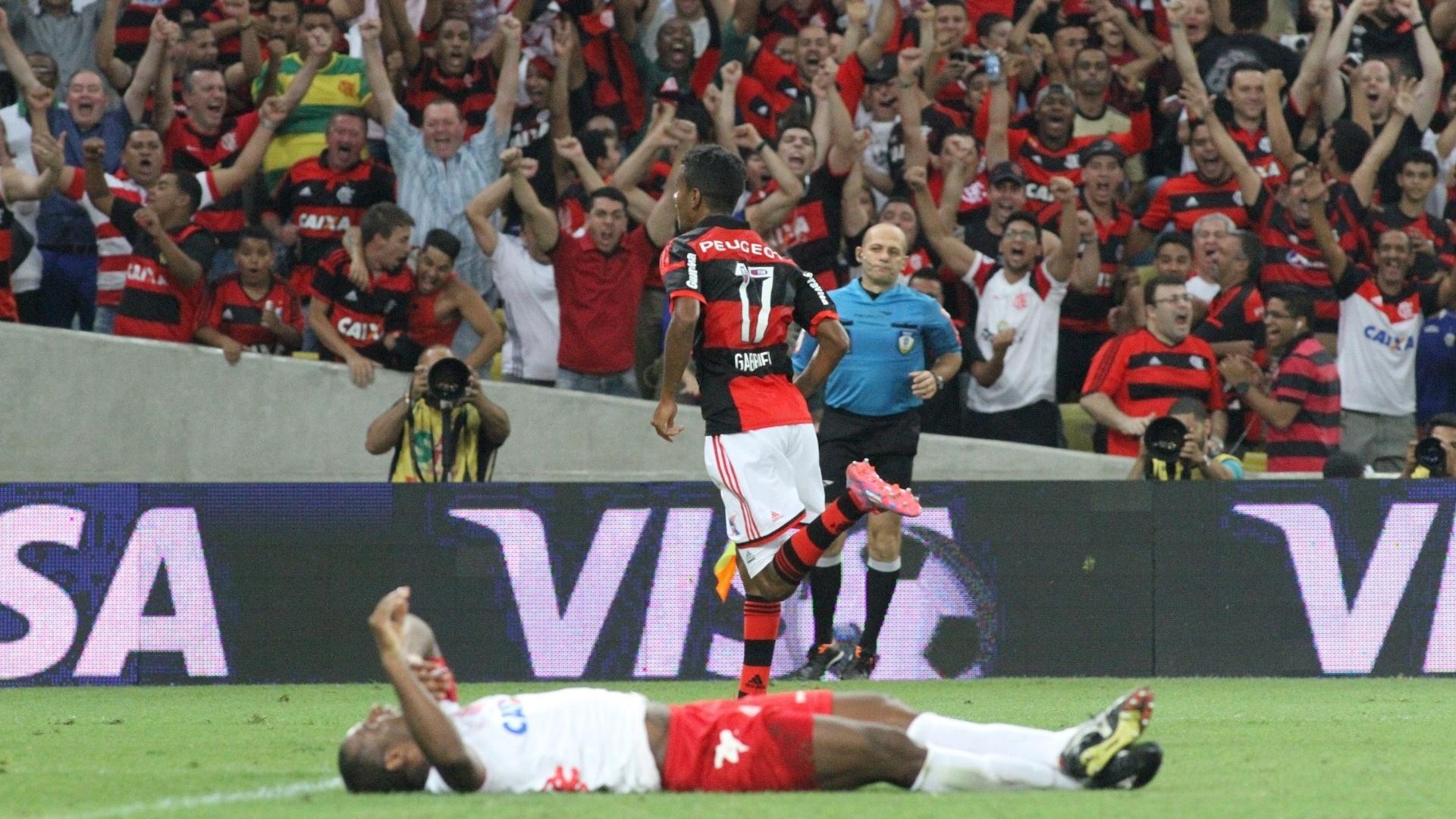 Gabriel abriu o placar para o Flamengo contra o América-RN