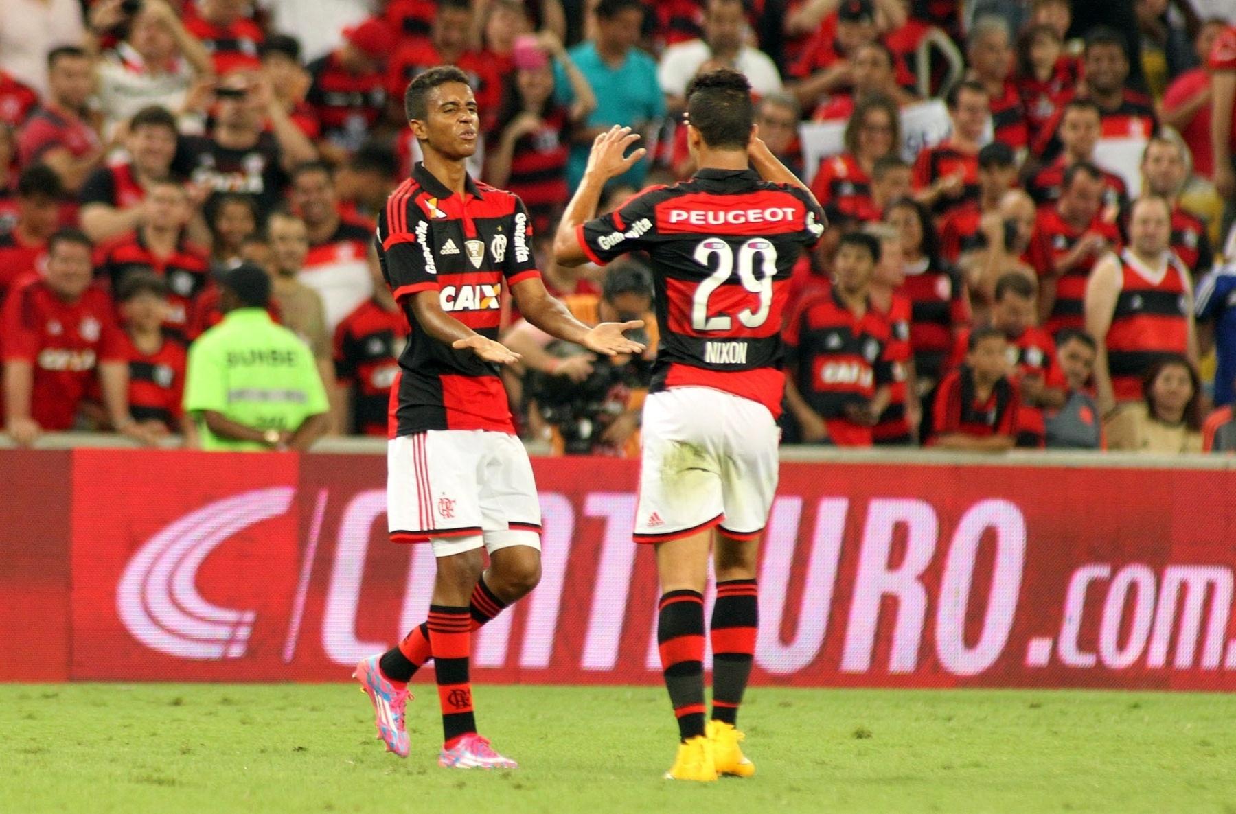 Gabriel fez o gol do Flamengo