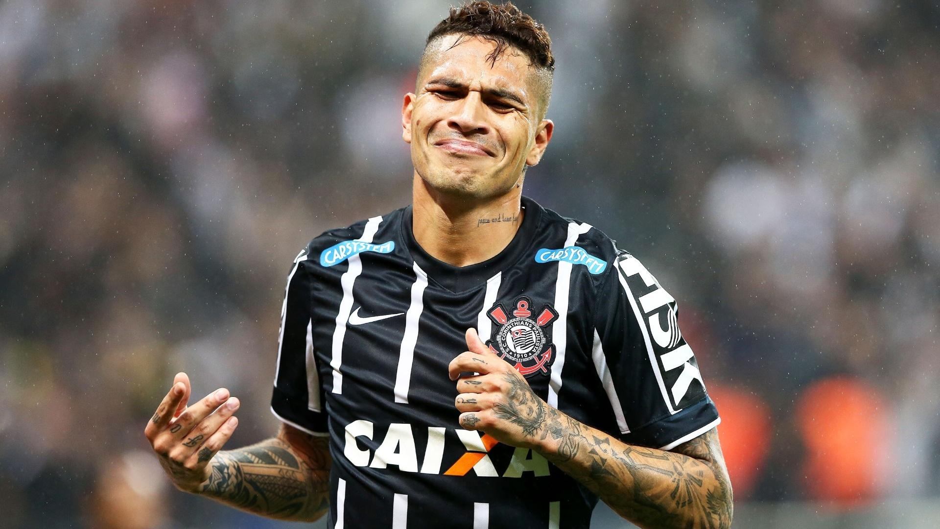 Guerrero abriu o placar para o Corinthians contra o Atlético-MG