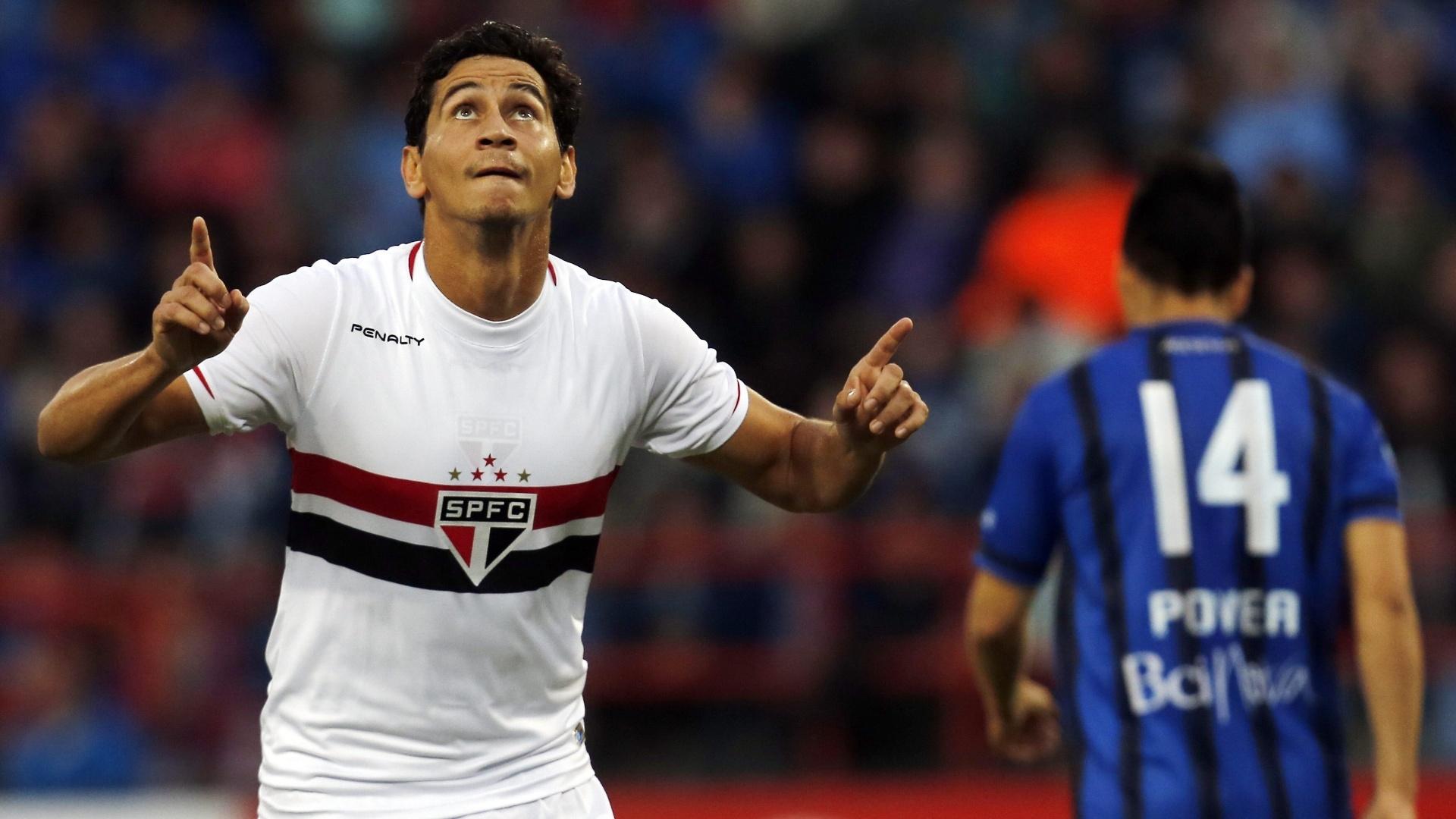 Paulo Henrique Ganso recolocou o São Paulo em vantagem no placar