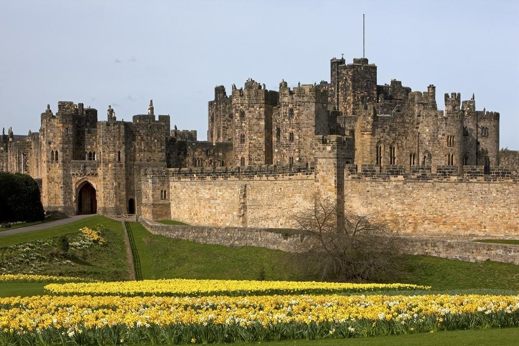 Castelo Alnwick recebeu filmagens da saga Harry Potter