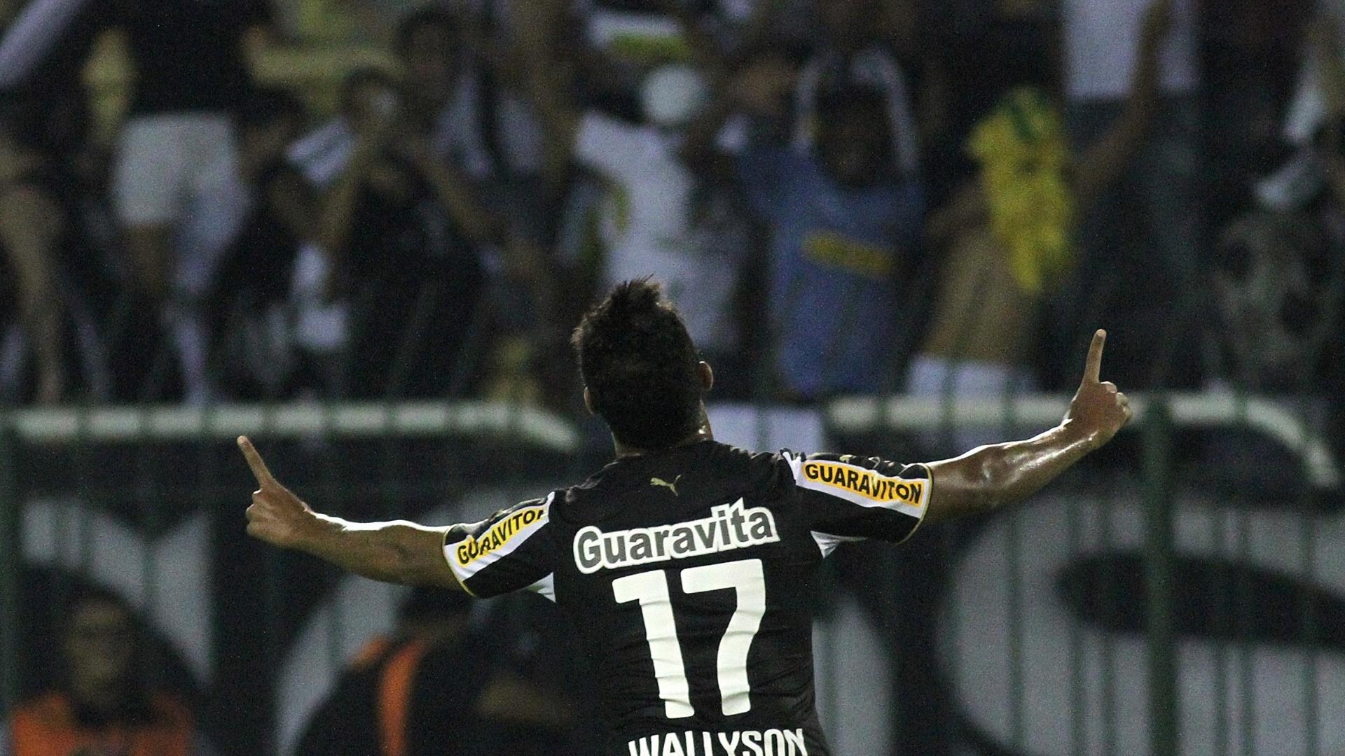 Diego Souza abriu o placar para o Sport, mas Wallyson empatou para o Botafogo