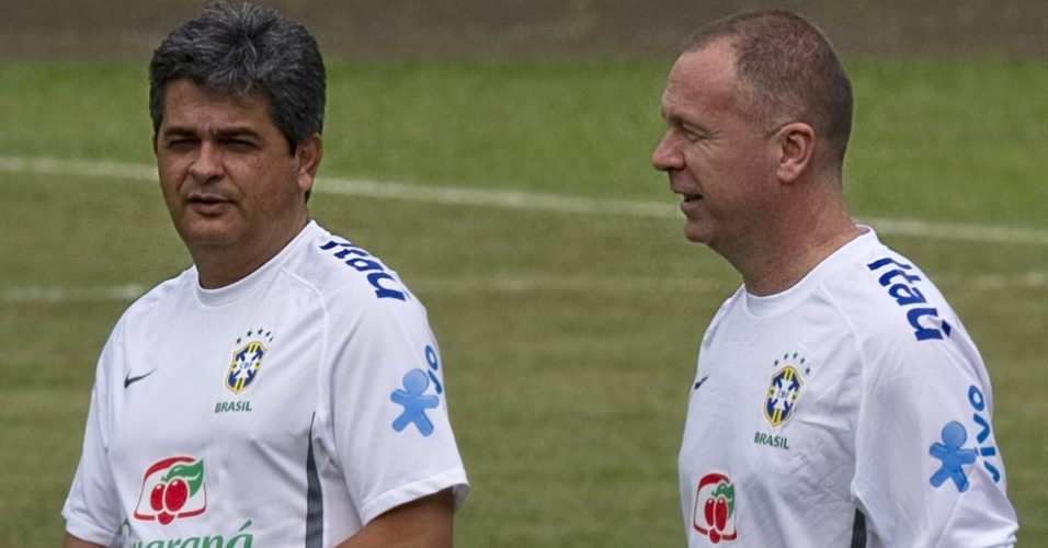 Ney Franco e Mano Menezes a serviço da Seleção Brasileira