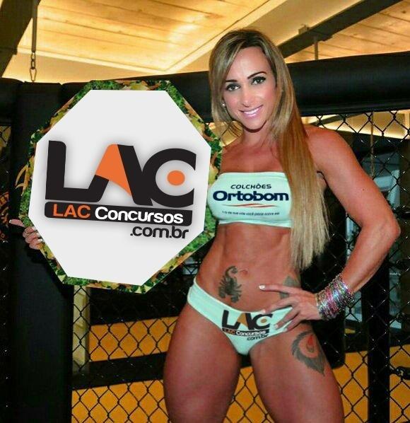 Geisa Vitorino, ring girl do Jungle Fight 74