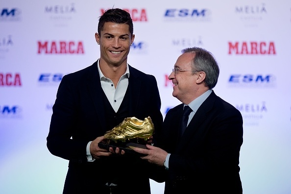 Cristiano Ronaldo ganha a sua 3ª Chuteira de Ouro