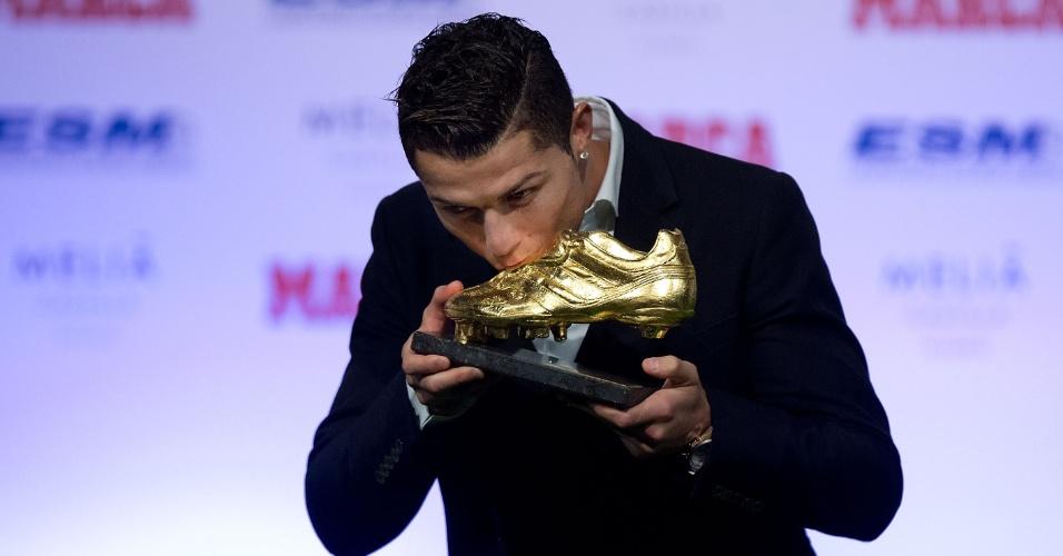 Cristiano Ronaldo vence pela 3ª vez a Chuteira de Ouro