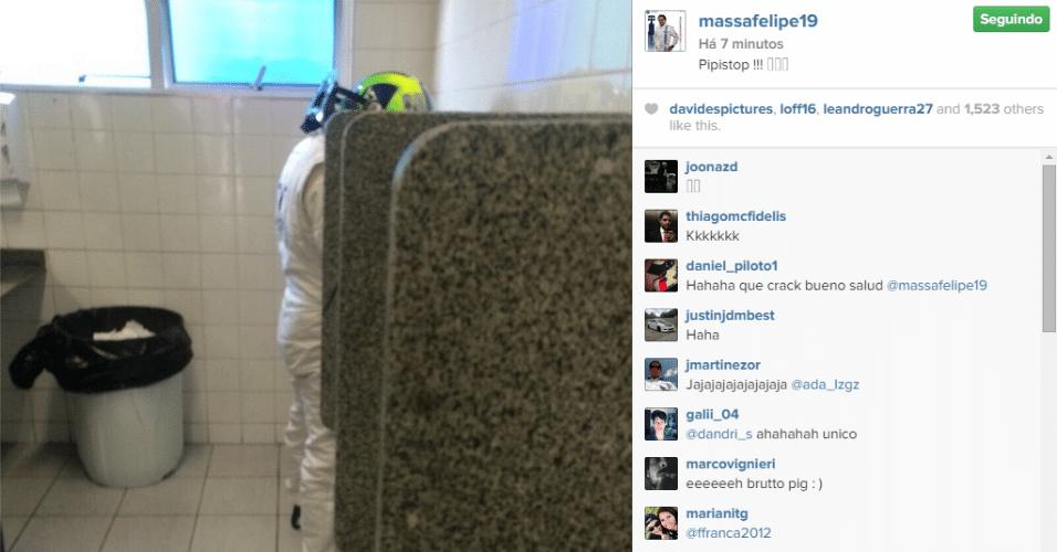 Felipe Massa faz um