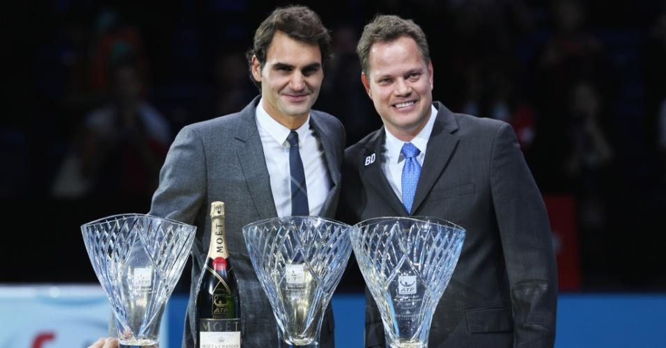 André Silva trabalha como agente de Roger Federer desde o início deste ano