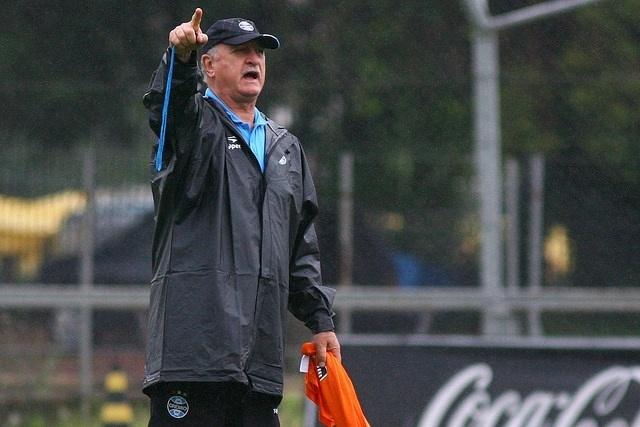 12 nov 2014 - Felipão comanda treinamento do Grêmio no Olímpico