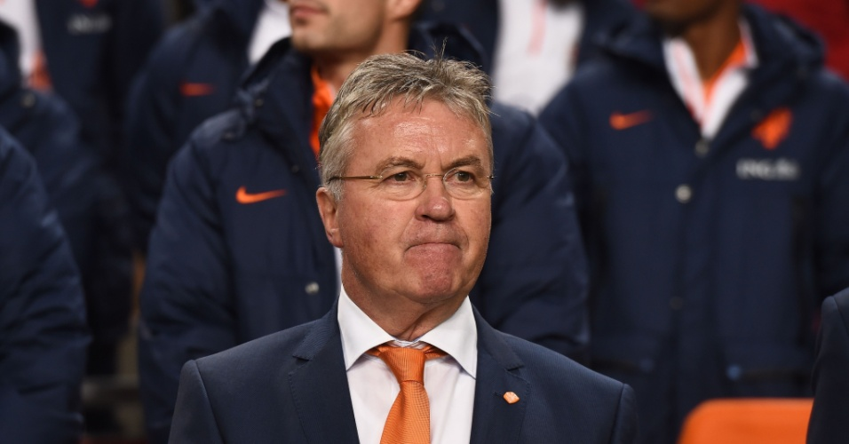 Guus Hiddink, técnico da Holanda
