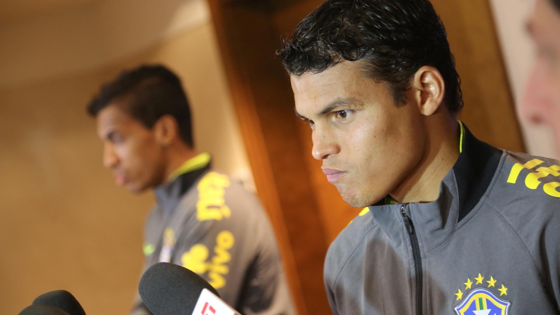 Thiago Silva escancarou descontentamento com a reserva e perda da faixa de capitão na seleção
