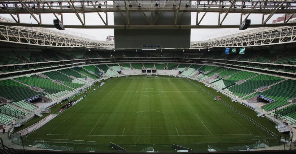 Telão da Arena do Palmeiras
