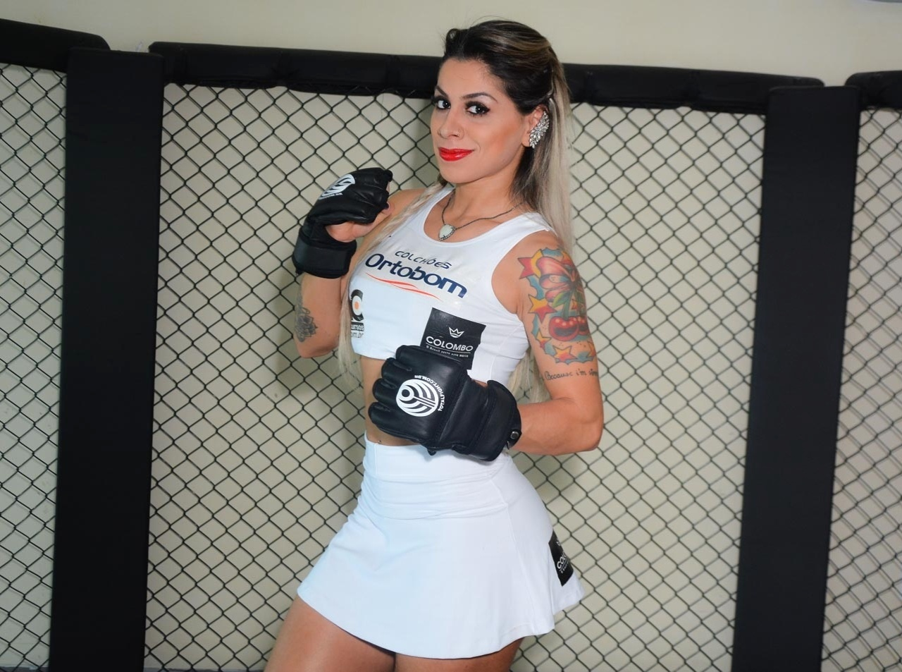 Vanessa Mesquita, ex-BBB, será ring girl do Jungle Fight 74