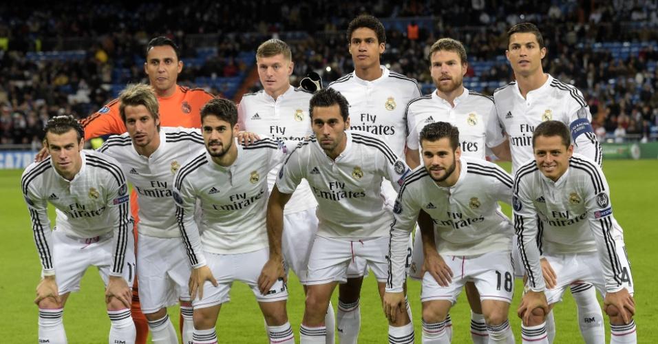 Com Cristiano Ronaldo capitão, o Real Madrid enfrenta o Ludogorets Razgrad pela última rodada do Grupo B