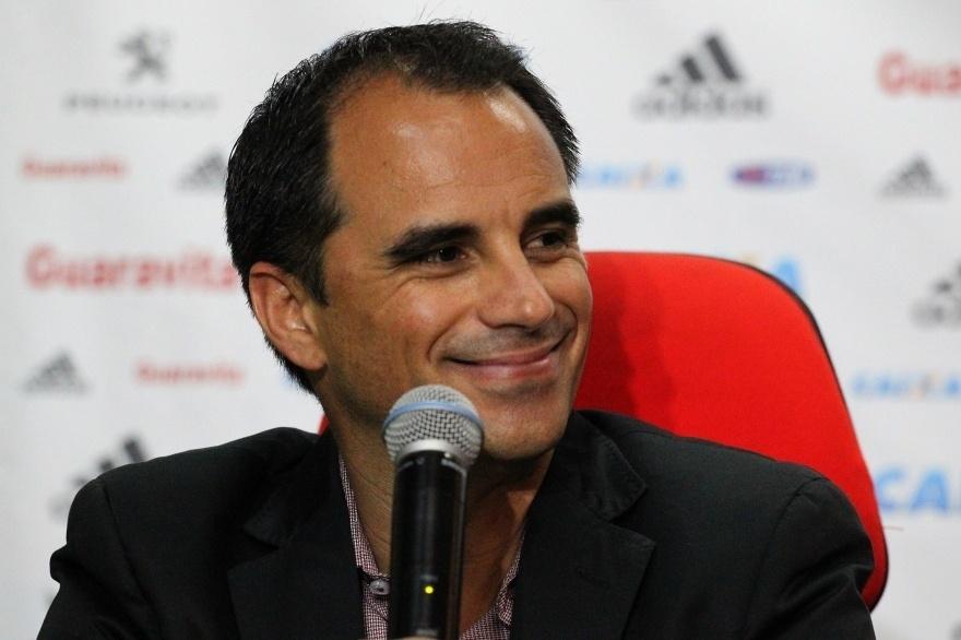 Rodrigo Caetano é apresentado como novo diretor executivo do Flamengo