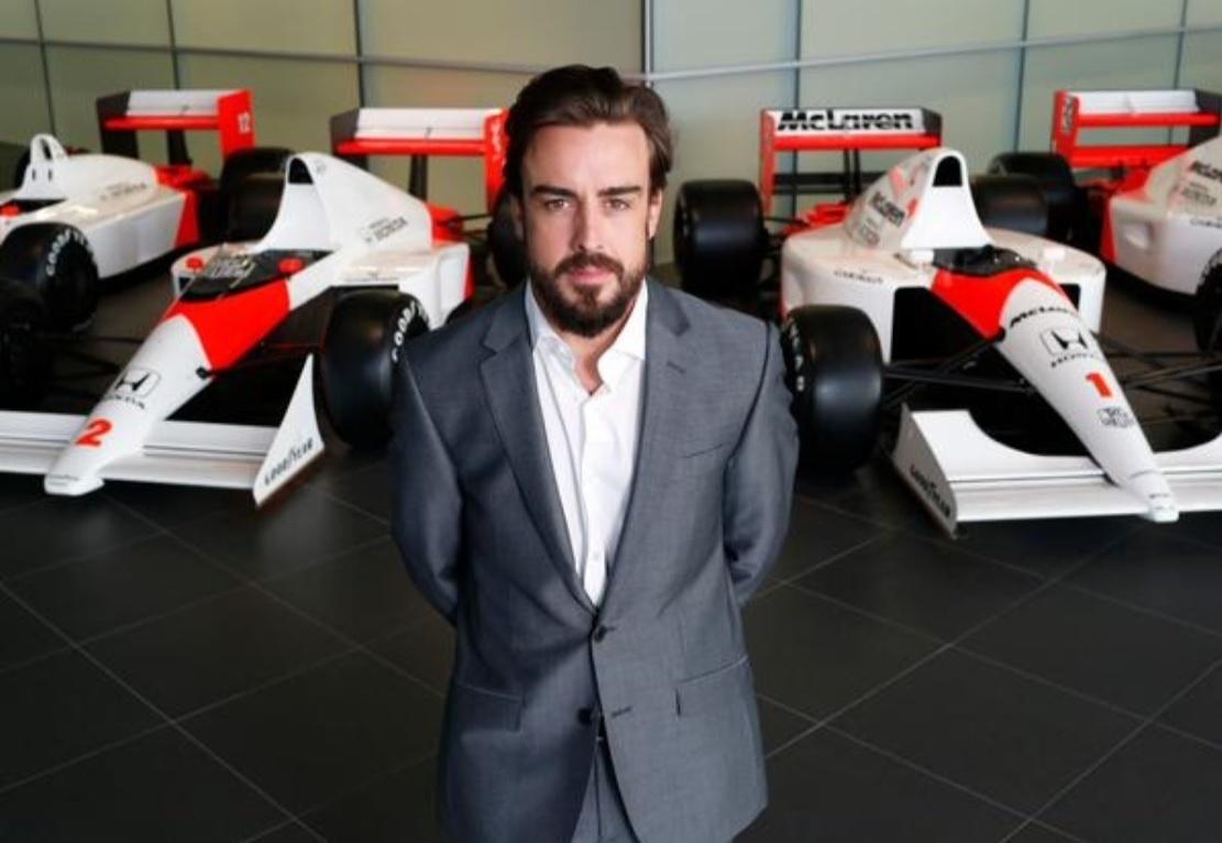 Fernando Alonso, piloto da McLaren para 2015