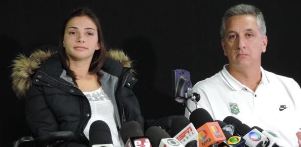 Ginasta falou sobre a recuperação após o grave acidente de esqui