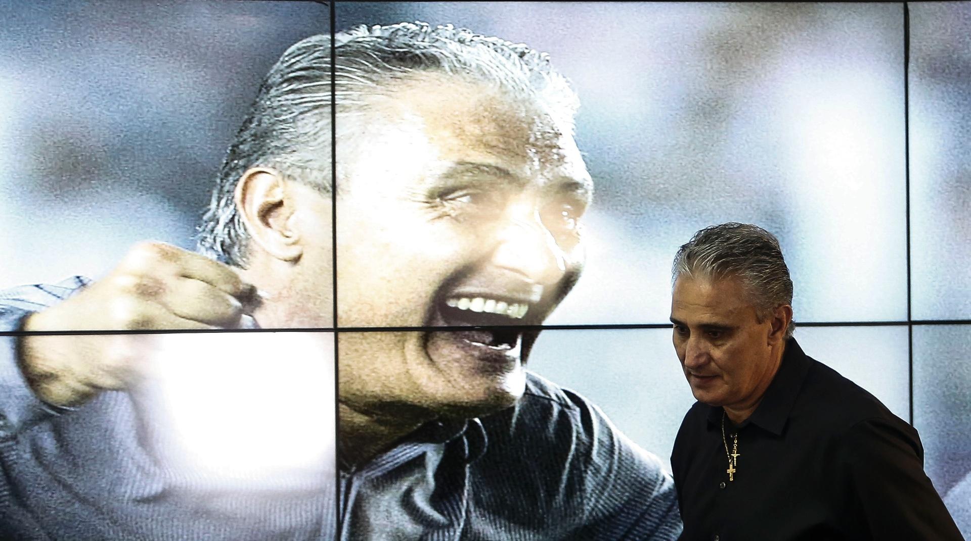 Tite é apresentado como o novo técnico do Corinthians