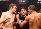 Matchmaker protagoniza cena bizarra em encarada de gigantes no UFC; veja - Reinaldo Canato/UOL