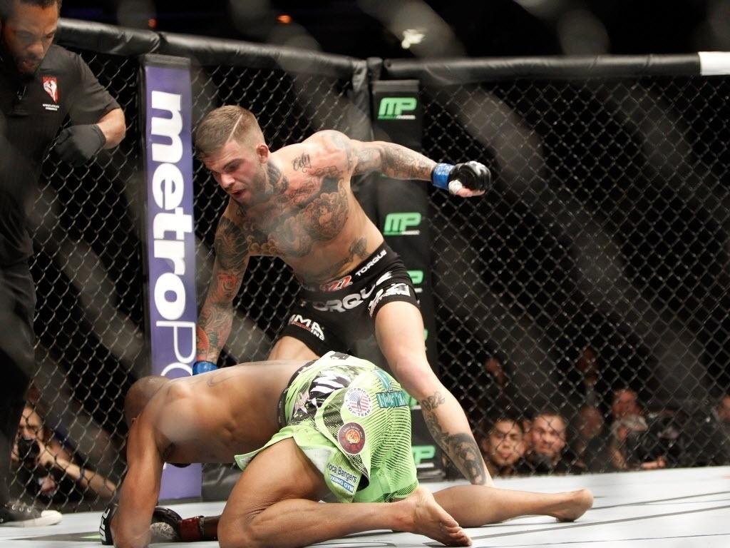 Cody Garbrandt nocauteia Marcus Brimage e garante a vitória