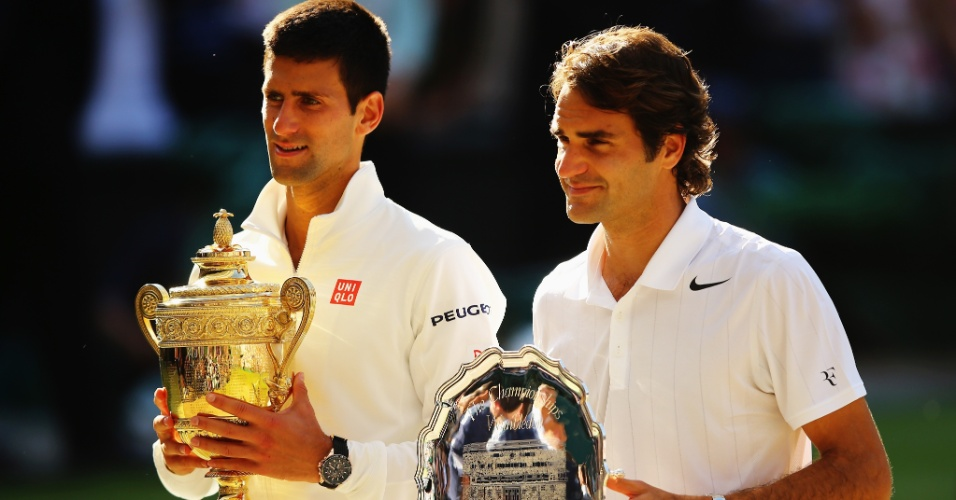 Na edição de 2014 de Wimbledon, Federer ficou com o vice-campeonato ao perder por 3 sets a 2 para Novak Djokovic