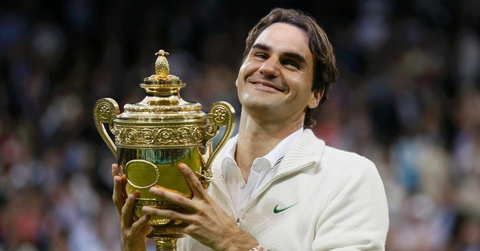 Último título de Grand Slam do suíço veio em julho de 2012, em Wimbledon, quando fez 3 sets a 1 sobre Andy Murray na final