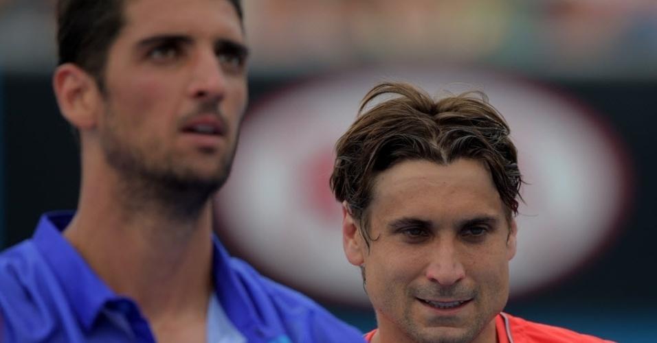 David Ferrer eliminou o brasileiro Thomaz Bellucci ao vencer na estreia por 3 sets a 1