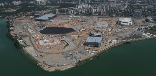 Parque Olímpico é a maior obra esportiva da Olimpíada. Custo de R$ 1,6 bilhão