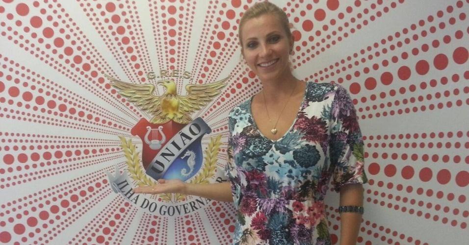 Fernanda Colombo desfilará pela União da Ilha