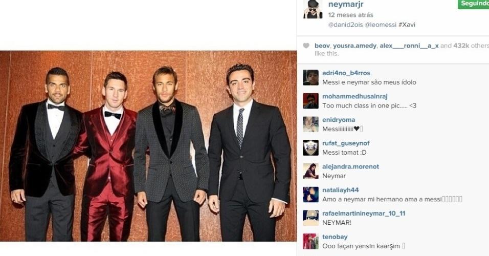 Para Messi brilhar, Neymar já disse não se incomodar com papel secundário no Barcelona.