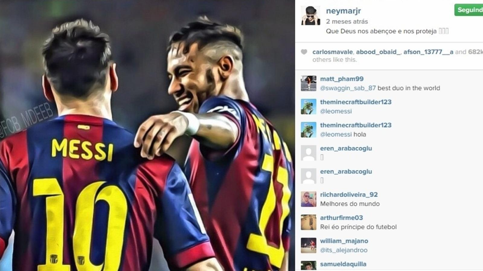 Juntos, Neymar e Messi já marcaram 50 gols nesta temporada