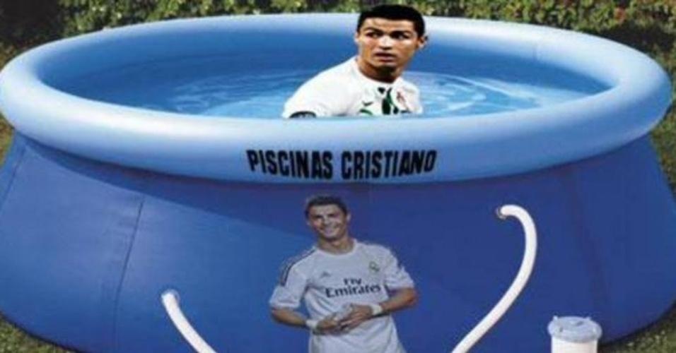 Cristiano Ronaldo é chamado com frequência pelos rivais espanhóis de