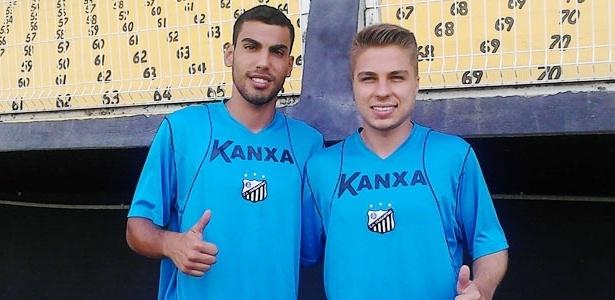 Fernando e Igor Sartori foram emprestados pelo Fla ao Bragantino para temporada 2015