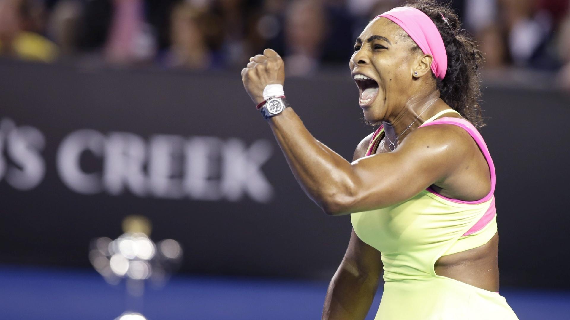 Serena conquistou neste sábado seu 19º título de Grand Slam