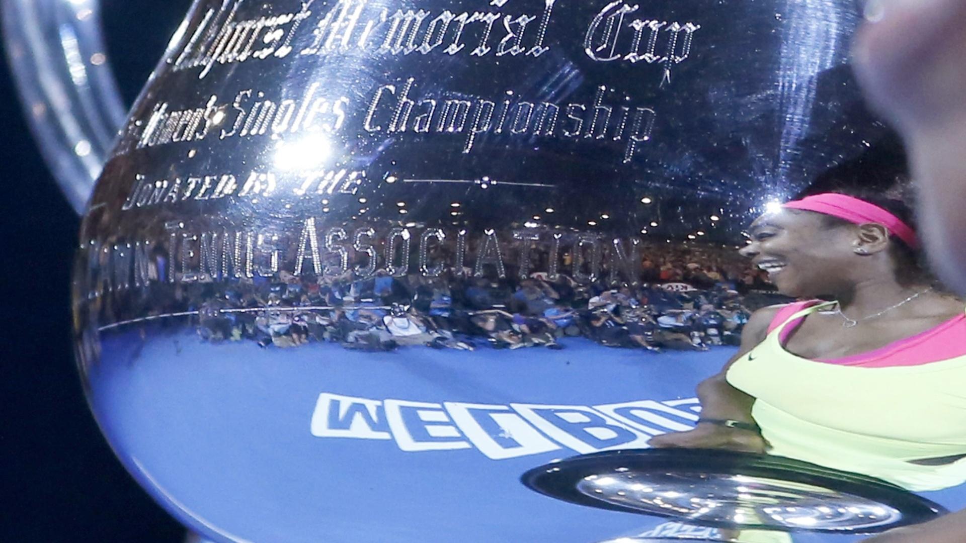 Serena ganhou o Aberto da Austrália pela sexta vez na carreira