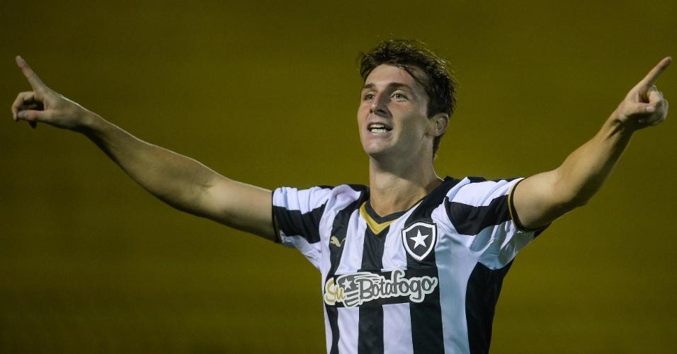 Diego Jardel comemora gol pelo Botafogo