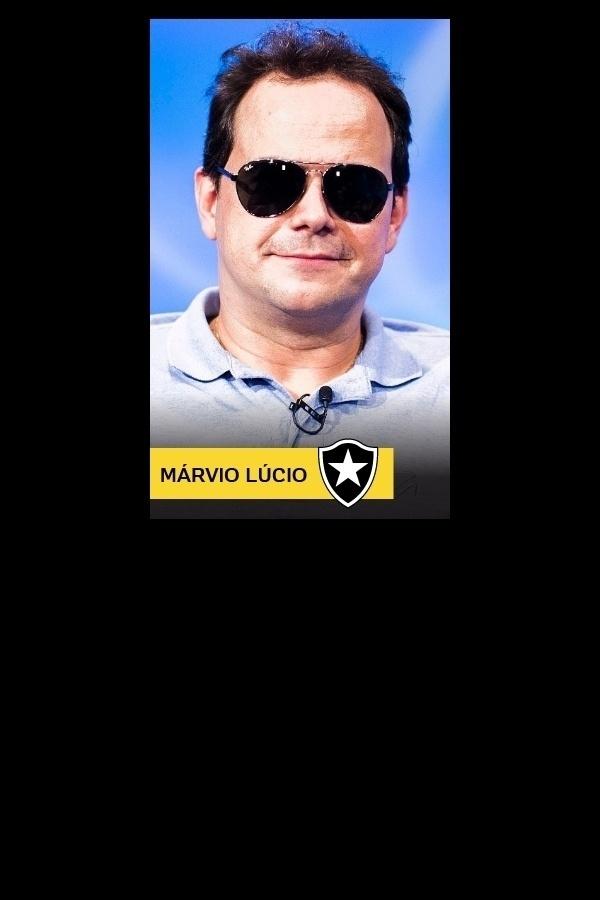 Márvio Lúcio, o carioca do Pânico, torce para o Botafogo
