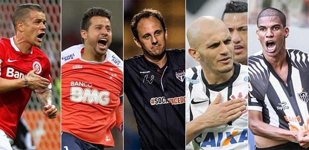 Dos capitães dos brasileiros na Libertadores, apenas Fábio não foi campeão da Libertadores