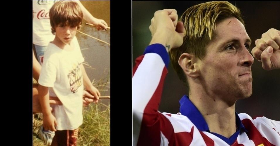 Fernando Torres, do Atlético de Madri
