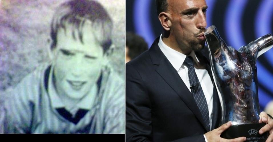 O ex-seleção francesa Frank Ribery