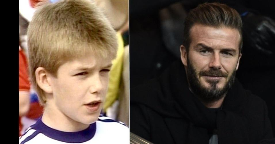 O ex-jogador inglês David Beckham