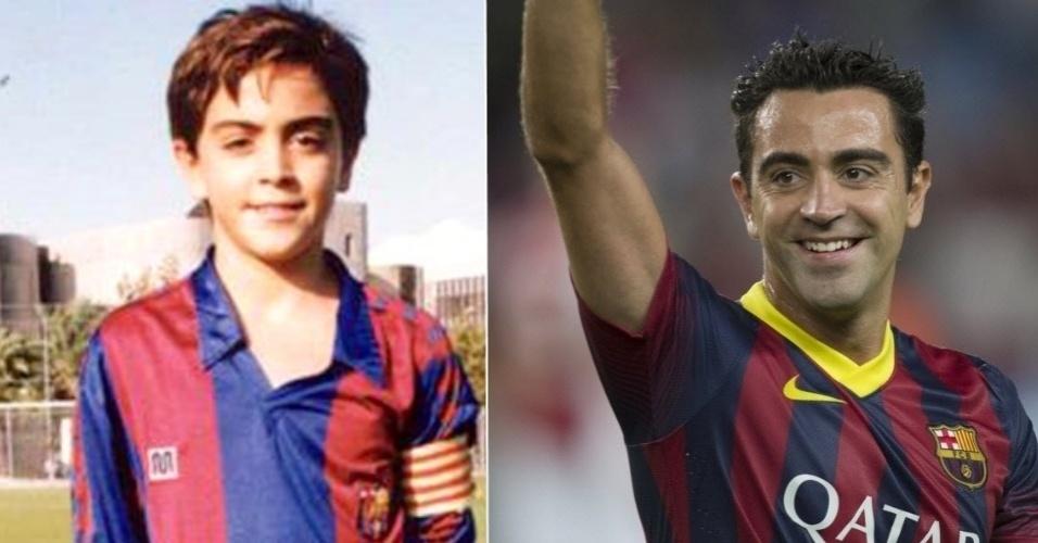 Xavi, jogador do Barcelona