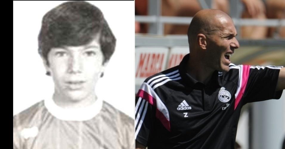 Zidane, ex-jogador da seleção francesa e do Real Madrid