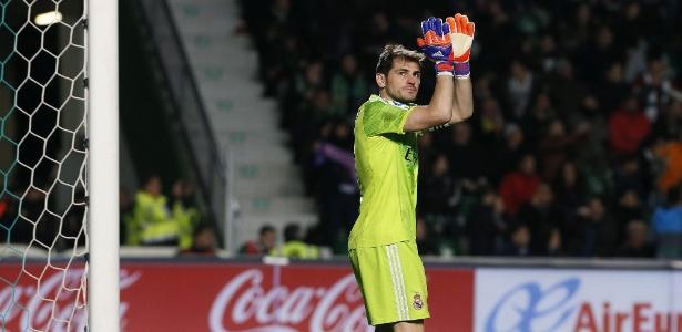 Clube merengue foi o único que o goleiro espanhol defendeu até então na carreira