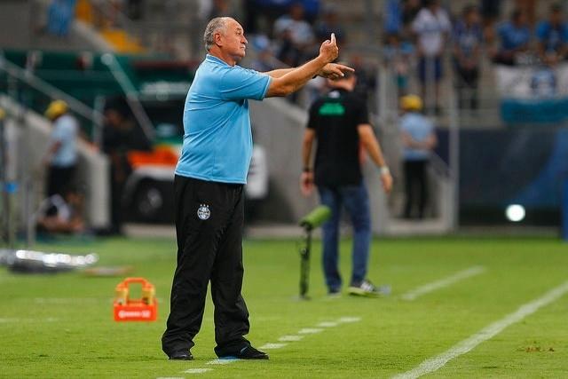 23 fev 2015 - Luiz Felipe Scolari quer contratações para o Grêmio ganhar qualidade