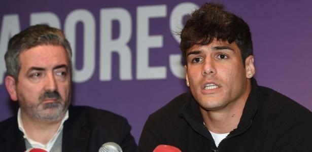 Acusções de lado a lado marcaram a vida de Caio (foto) em Portugal