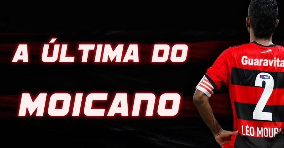O Flamengo organiza a despedida do lateral direito Léo Moura